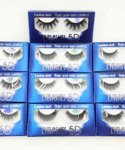 مژه پنج بعدی Eyelashes 5D