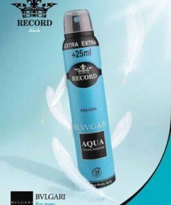 اسپری زنانه رکورد RECORD 250ml